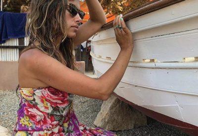Preciosa @angelasaizalonso con nuestro #anilloambar