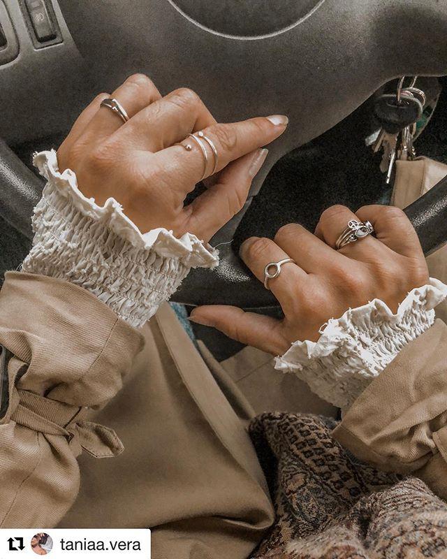 Hay personas que les quedan bien los anillos y